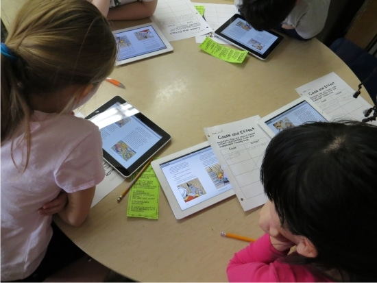 Teach Junkie: 12 Easy Cause and Effect Activities and Worksheets - Cause and Effect with Technology Centers