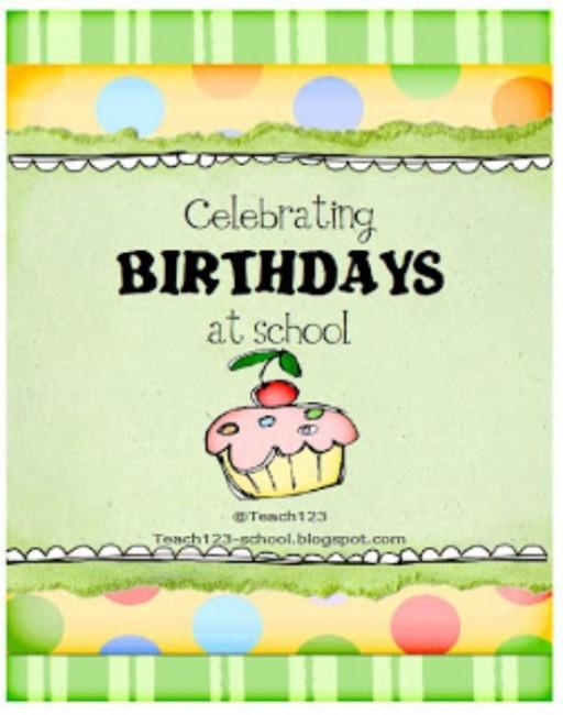 Teach Junkie: 9 Simple Birthday Celebrations and Classroom Birthday Wishes - birthday star book