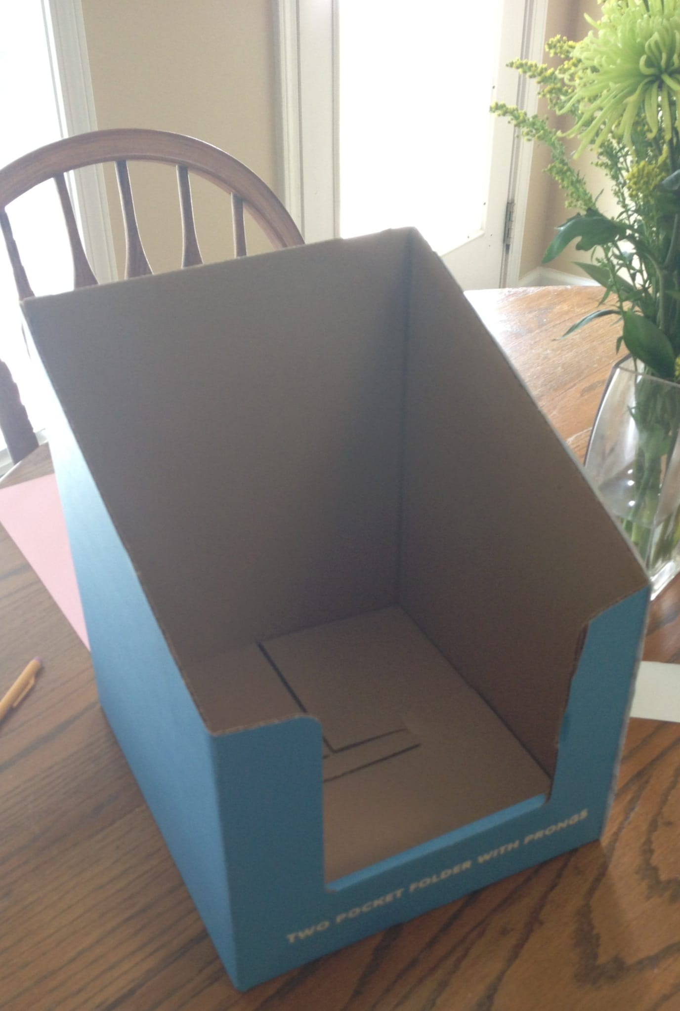 Simple DIY File & Paper Organizer for Teachers