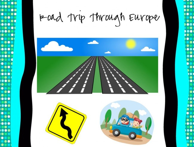 Teach Junkie: Road Trip Through Europe {Free Printable}