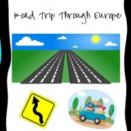 Road Trip Through Europe {Free Printable}