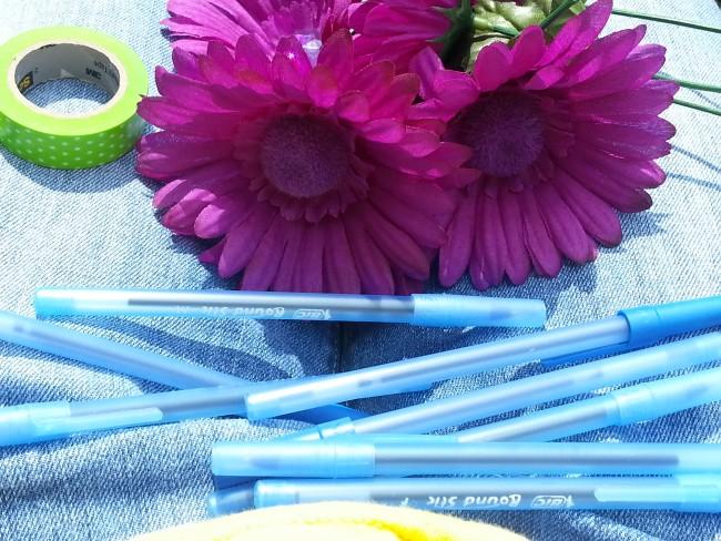 Diy Flower Pens Teach Junkie