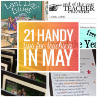 21 Handy Tips for Teaching in May