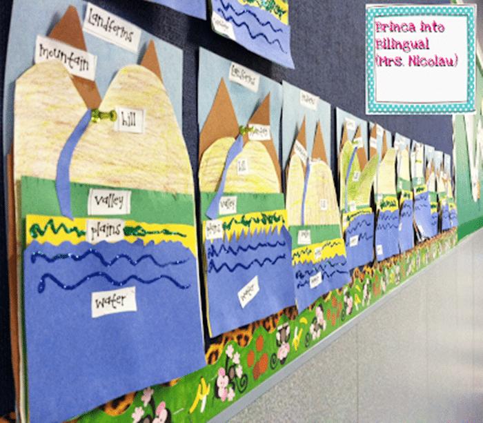 21 Landforms for Kids Activities and Lesson Plans -Paper Landforms - Teach Junkie
