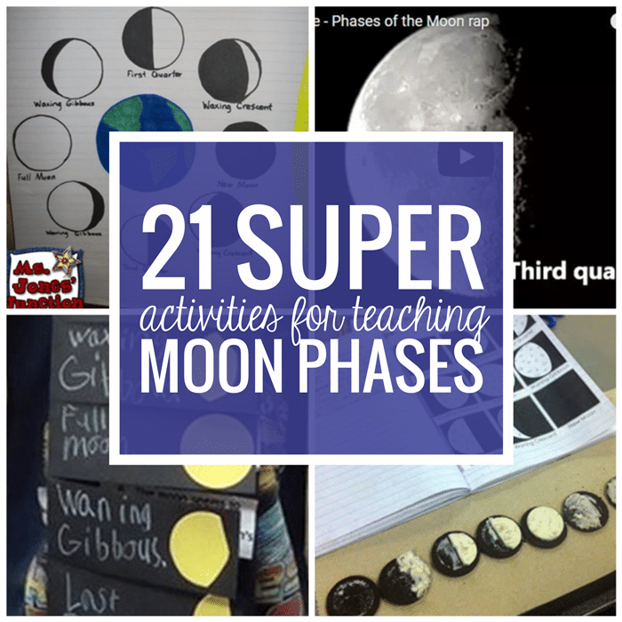 21 Super Activities for Teaching Moon Phases