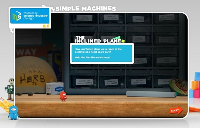 24 Elementary Force and Motion Experiments and Activities -online simple machines game