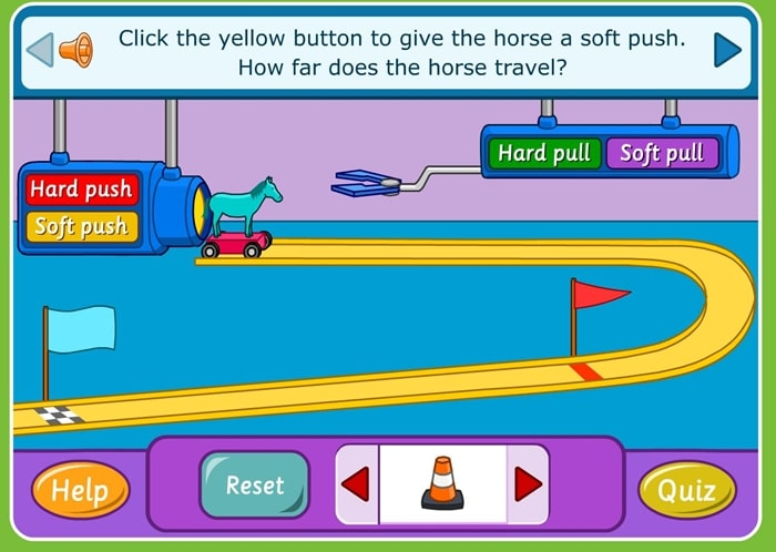 24 Elementary Force and Motion Experiments and Activities -push and pull online activity