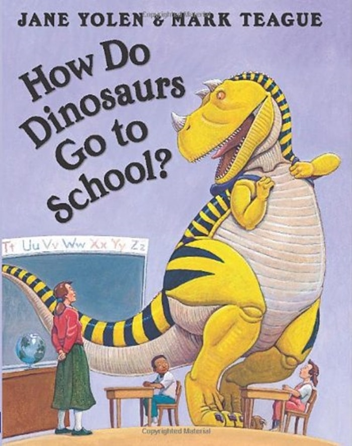 26 Favorite Back to School Books for Kids - How Do Dinosaurs Go To School