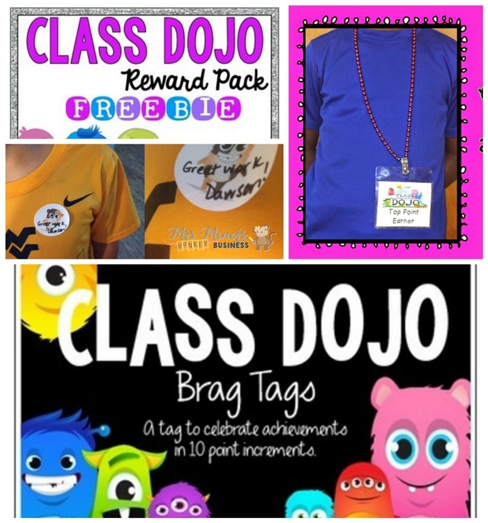 27 Amazing Class Dojo Printables and Ideas - Free Printables for Student Recognition for Classroom Dojo - Teach Junkie