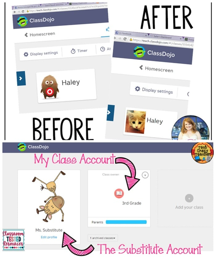 27 Amazing Class Dojo Printables and Ideas - Tricks to Make Class Dojo for Teachers Awesome - Teach Junkie
