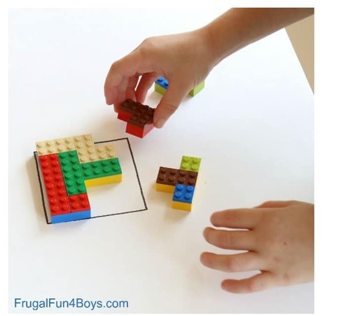 28 Awesome STEM Challenges for the Elementary Classroom - Lego Brain Puzzles - Teach Junkie