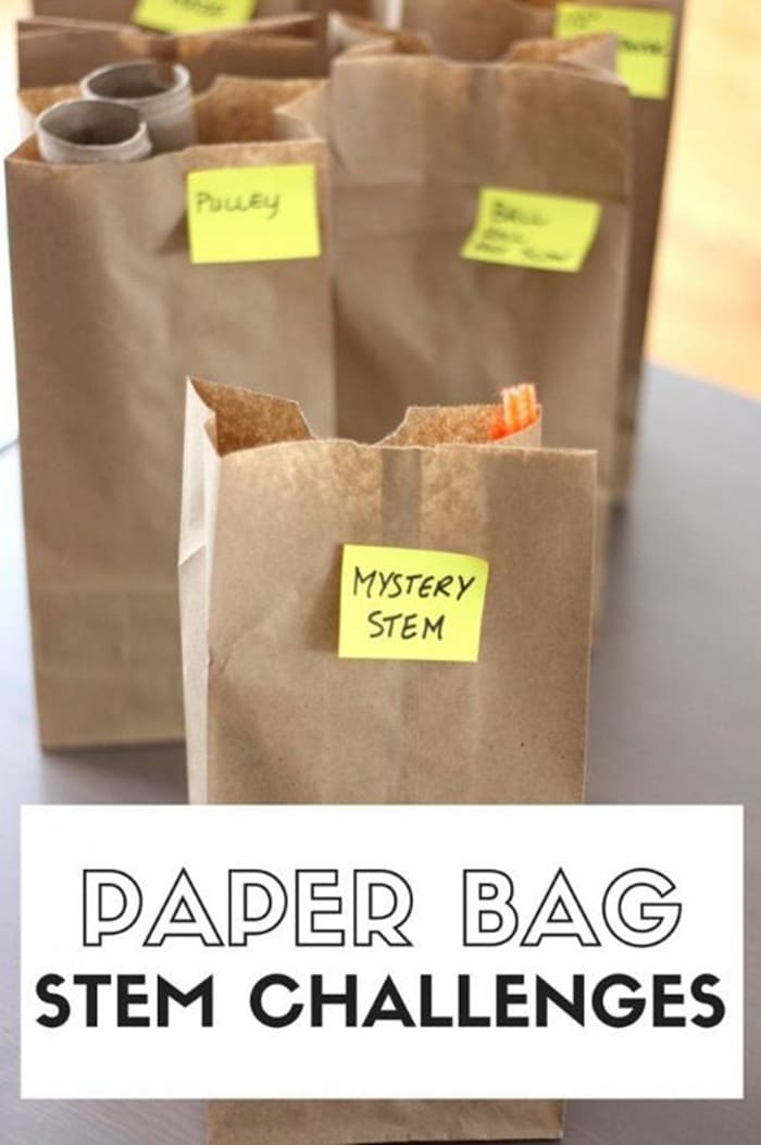28 Awesome STEM Challenges for the Elementary Classroom - Paper Bag Mystery - Teach Junkie