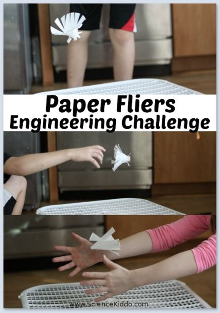28 Awesome STEM Challenges for the Elementary Classroom - Paper Fliers - Teach Junkie