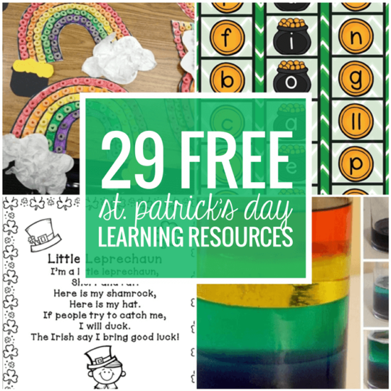 29 Free St. Patrick's Day Learning Resources