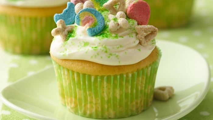 3 Adorable and Free St. Patrick's Day Tags Printables - lucky charms cupcake