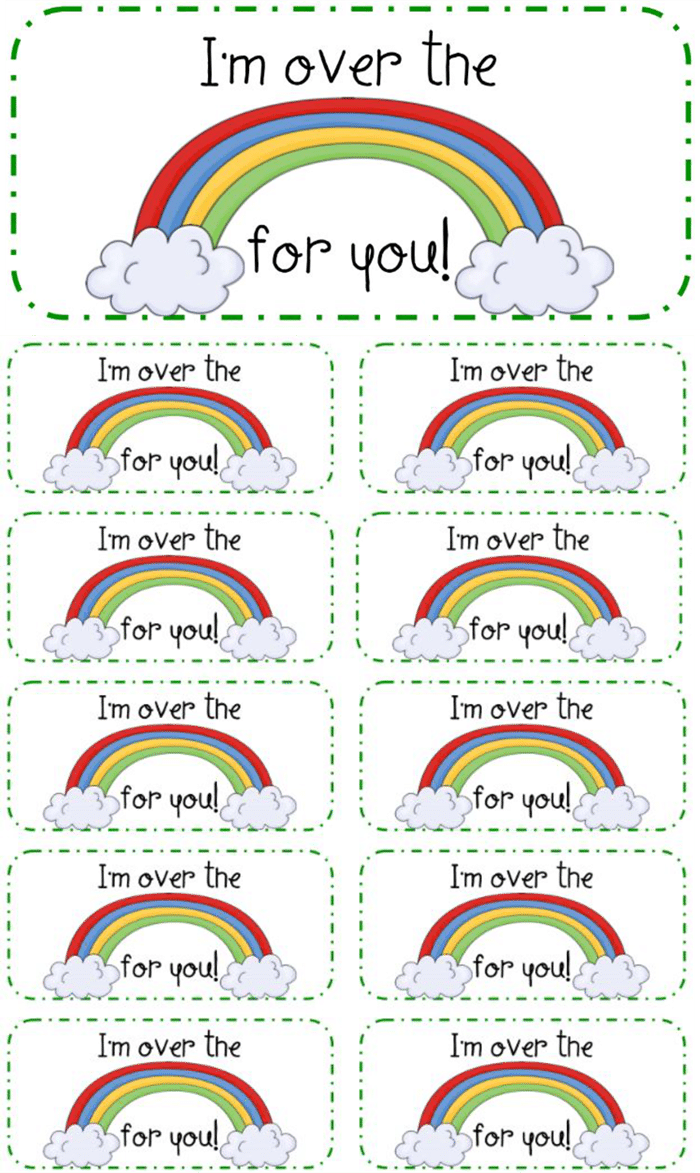 3 Adorable and Free St. Patrick's Day Tags Printables - treat bag tags
