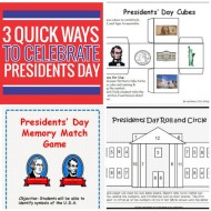 3 Quick Ways to Celebrate Presidents Day