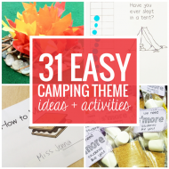 31 Easy and Fun Camping Theme Ideas and Activities