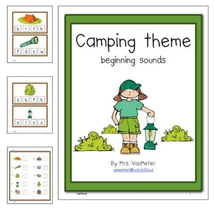 31 Easy And Fun Camping Theme Ideas And Activities Teach Junkie