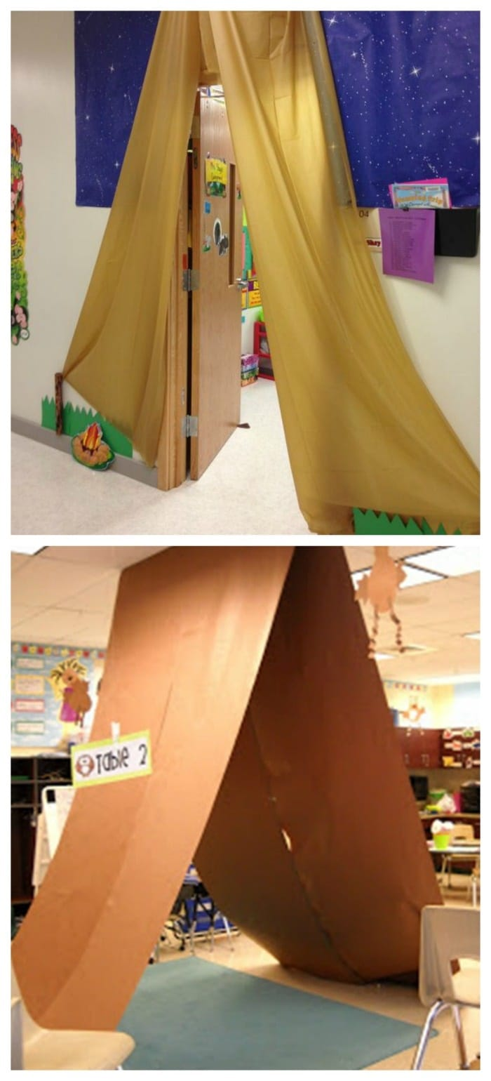 Decorate Science Classroom ~ Easy and fun camping theme ideas activities teach