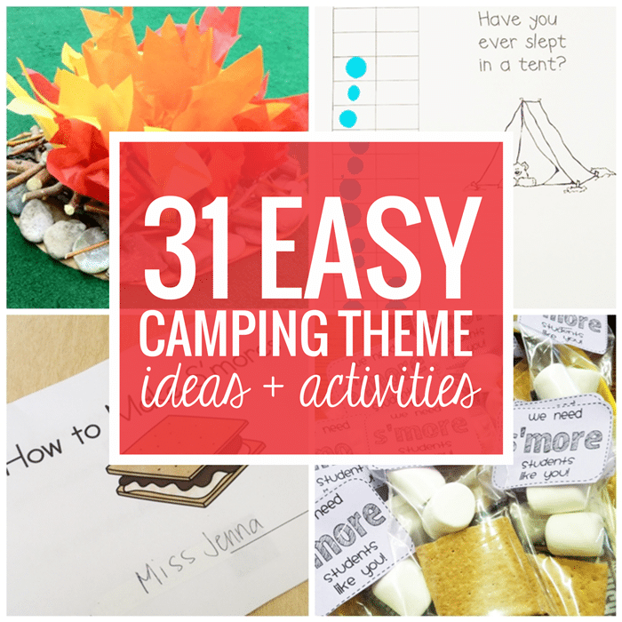 Camping Christmas In July Ideas.31 Easy And Fun Camping Theme Ideas And Activities Teach