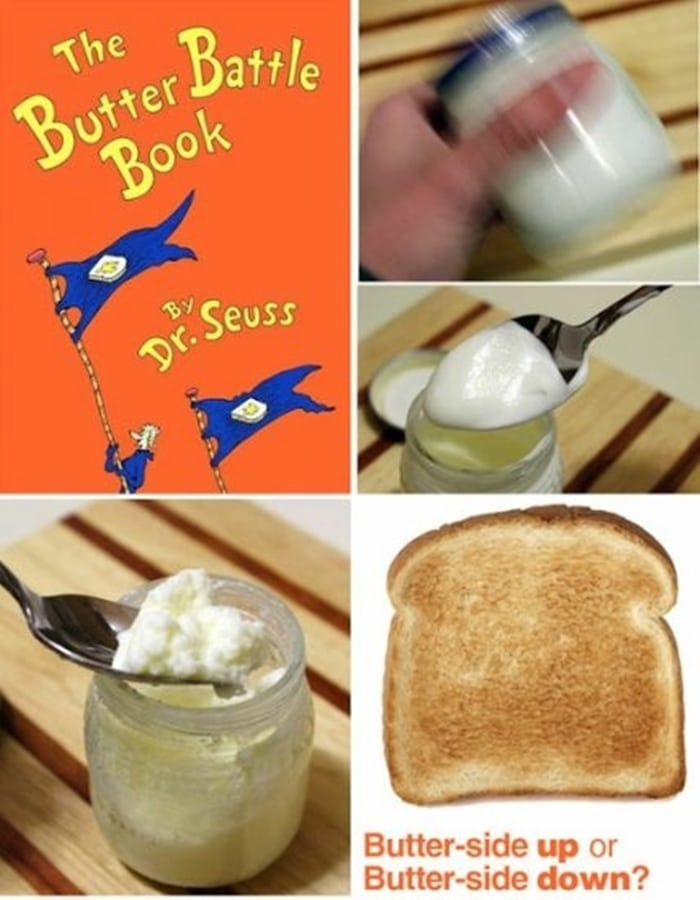 31 Ideas for Read Across America and Dr. Seuss - The Butter Battle Book