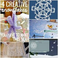 4 Creative Snowflakes You Have to Make This Year