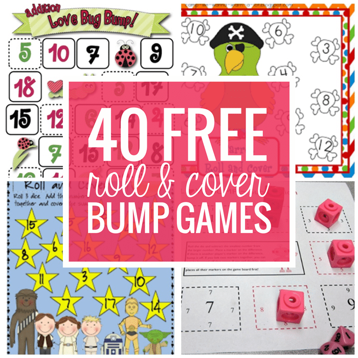 40 Roll and Cover Bump Cool Math Games