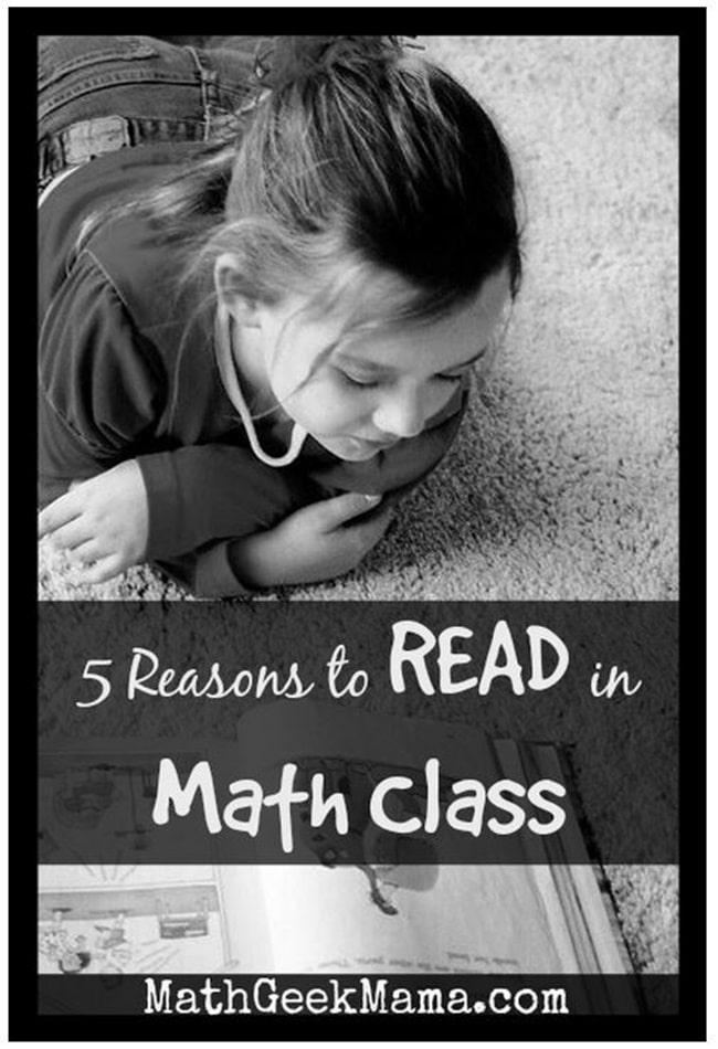 5 Reasons to Read in Math Class - Teach Junkie