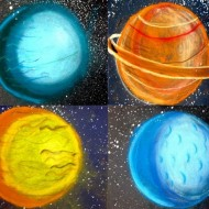 Stunning Planets Space Art: Shading Techniques