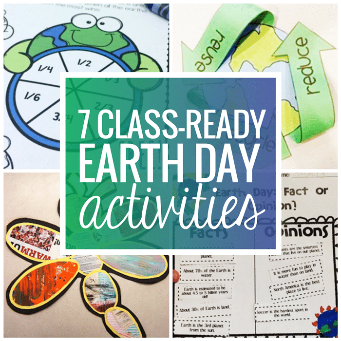 7 Classroom Ready Free Earth Day Activities