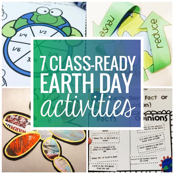7 Classroom Ready Free Earth Day Activities