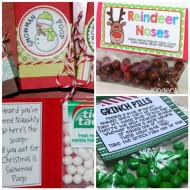 8 Free Classroom Holiday Treat Labels