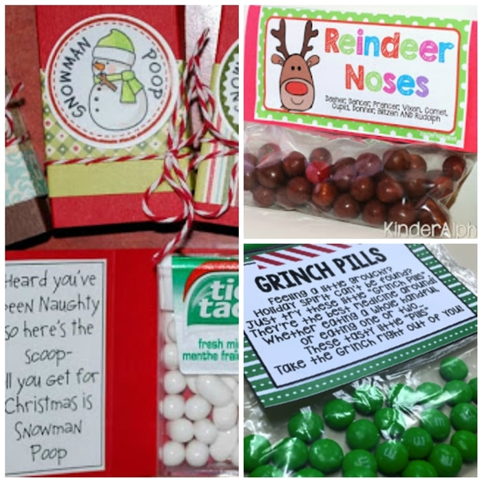 8 Kinds of Treat Labels Poop for Christmas