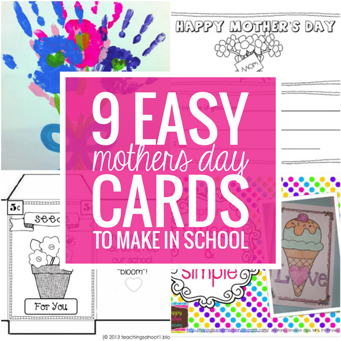 28 Simple Mother's Day Crafts and Gift Ideas - Teach Junkie