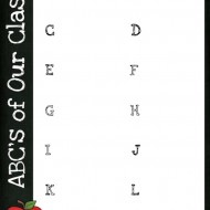 Back to School Classroom ABC's: Parent Classroom Forms