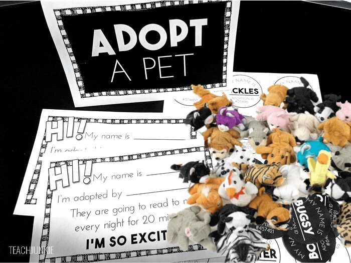 Cute Adopt-a-Pet Reading Kit to Encourage Your Students to Read at Home -  Teach Junkie
