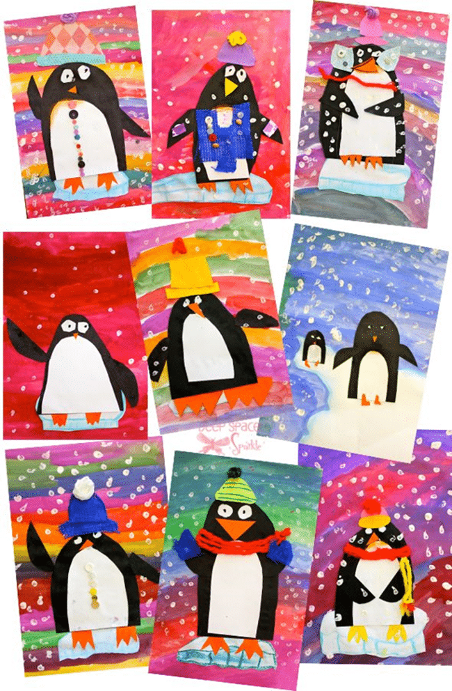 All About Penguins - Penguin Books, Art and More - Teach Junkie