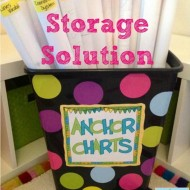 How to DIY: Anchor Chart Storage