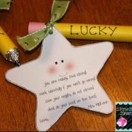 Anyone Need a Lucky Pencil? (Testing Encouragement Note)