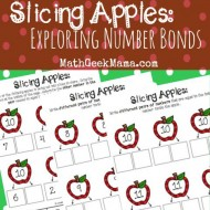 Exploring Number Bonds with Apple Slices