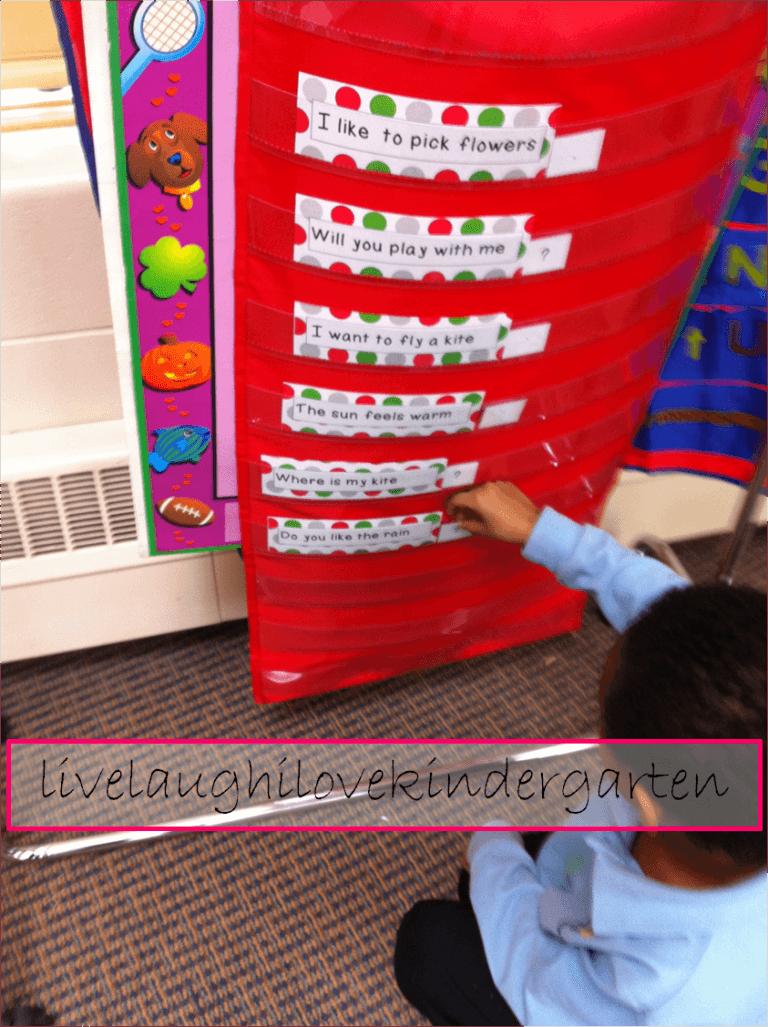 Basic Punctuation in Kindergarten - Teach Junkie