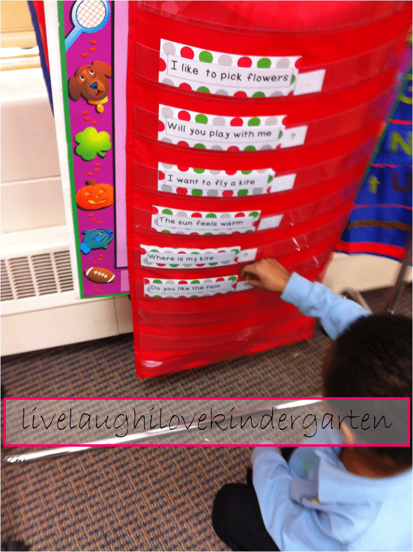 Basic Punctuation in Kindergarten