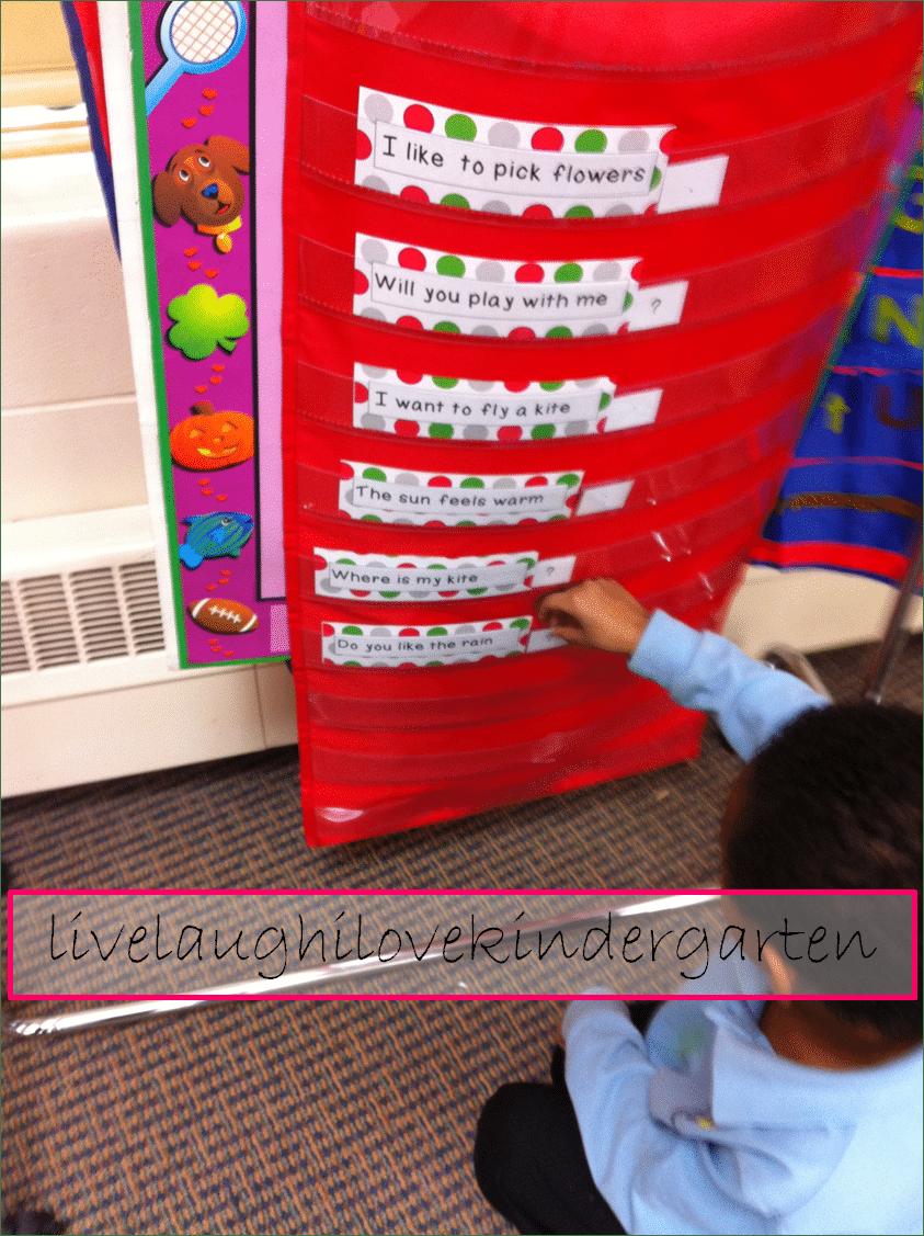 Basic Punctuation in Kindergarten