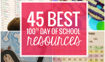 Best 100th Day of School Resources and Free Activities