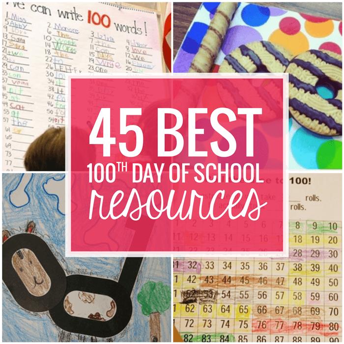45 Best 100th Day Of School Resources Teach Junkie