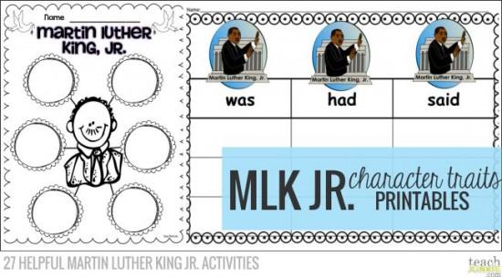 27 Helpful Martin Luther King Jr Activities Teach Junkie