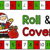 Christmas Roll and Cover {Printable} Teach Junkie