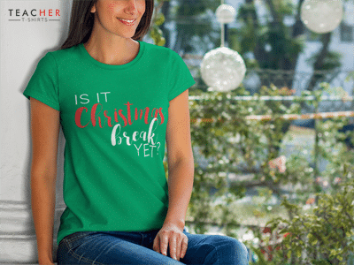 Christmas Teacher Tee