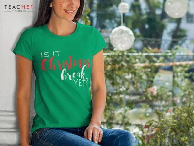 Christmas Teacher Tee